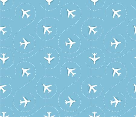 liftoff: plane pattern Illustration
