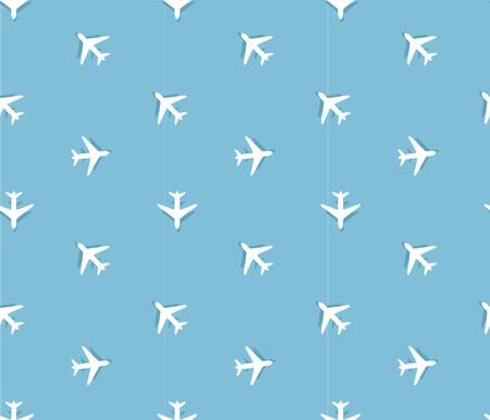 boeing: plane pattern Illustration