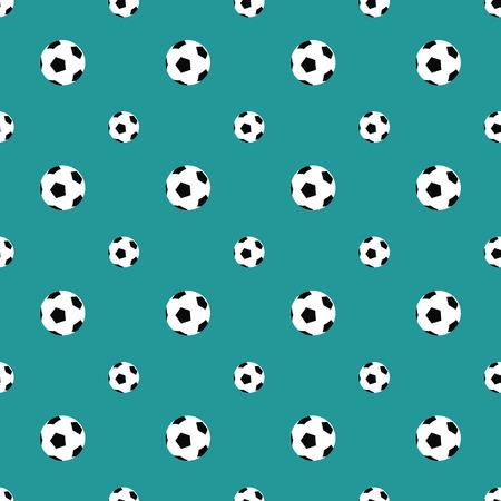 elasticity: soccer balls pattern Illustration
