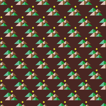cheops: pyramids pattern Illustration