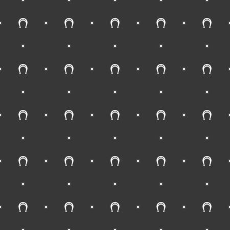 stirrup: horseshoe pattern