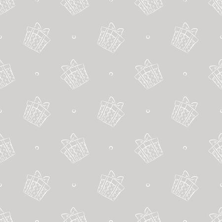 gift boxes pattern Illustration