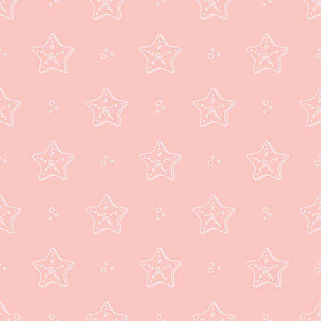 molluscs: starfish pattern Illustration