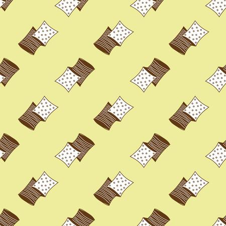 pillows pattern Vectores