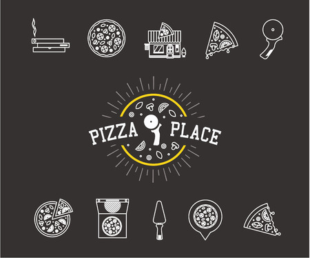 geolocation: pizza icons