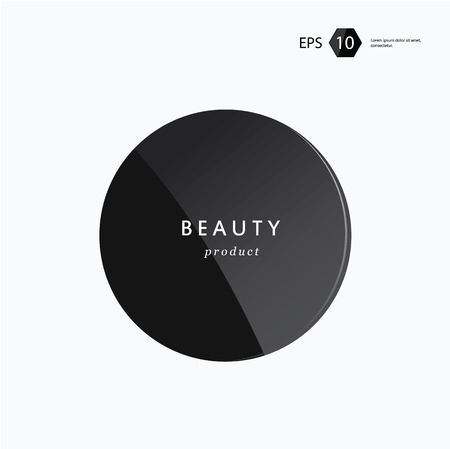 a vector modern beauty package presentation product