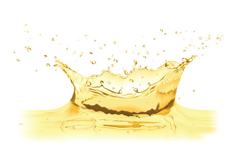 vector water splash crown Illustration
