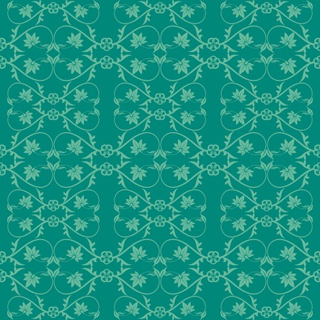 Green shade design pattern ornamental background