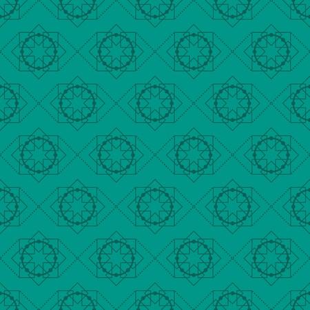 ジェイドと森と常緑観賞の渦巻き背景  イラスト・ベクター素材