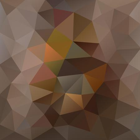 Tortilla brown and smoke grey polygonal background with a touch of olive and redwood Illustration
