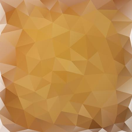 Buff and dark beige polygonal background with a touch of whie