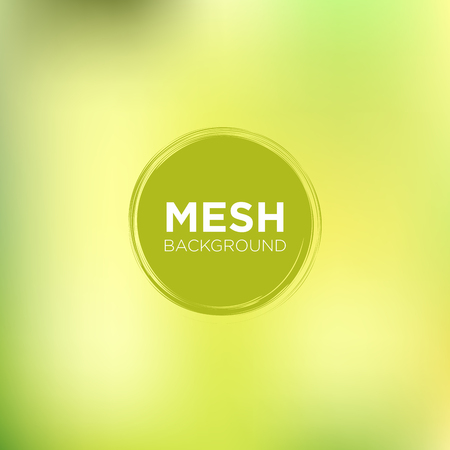 Mesh Backgrounds in lime tones perfect for wallpaper, posters flyers, backgrounds, presentation or business cards. Vector Illustration