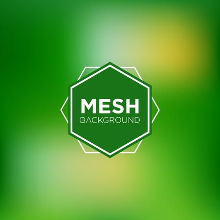 Grassy Mesh Background Illustration