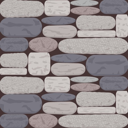 Stoned Wall Background in Shades of Grey and Rose Brown