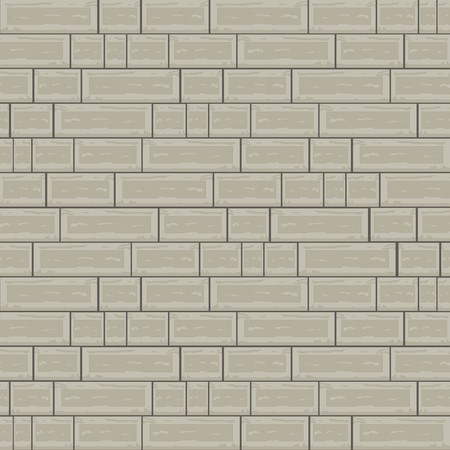 Cemented Brick Background with Block Architecture