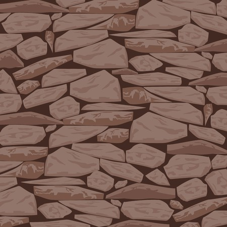 Stone Textured Background in Caramel Peanut Tone Ilustracja