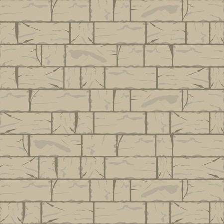 Cracked Brick Wall Background in Hazel Wood Brown Tone