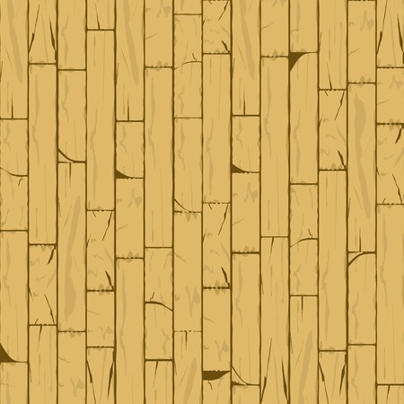 Vertical Cracked Bamboo Wall Background in Biscotti Shade
