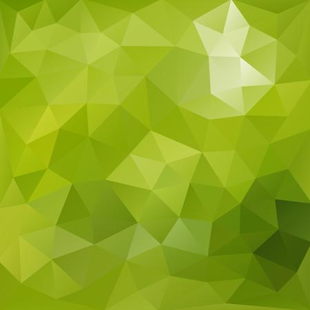 Lush green polygonal background.