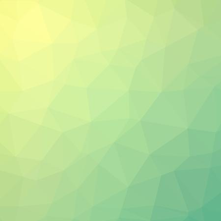 Fresh summer lime polygonal background.
