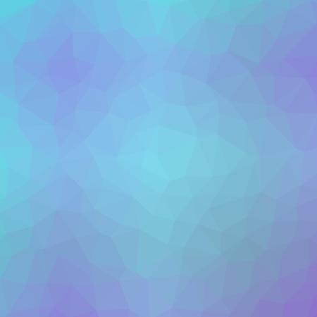 Polygonal Background in Sapphire Indigo Blue Tones
