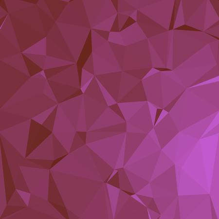 Shiny Polygonal Background in Hot Pink Tones