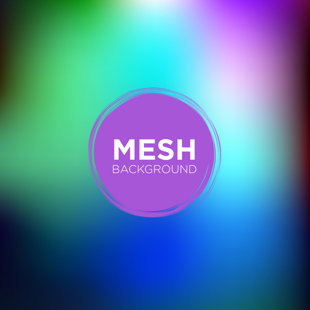 Mesh Background in Waterfall color Palette
