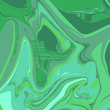 Liquid Seagreen Marble Background