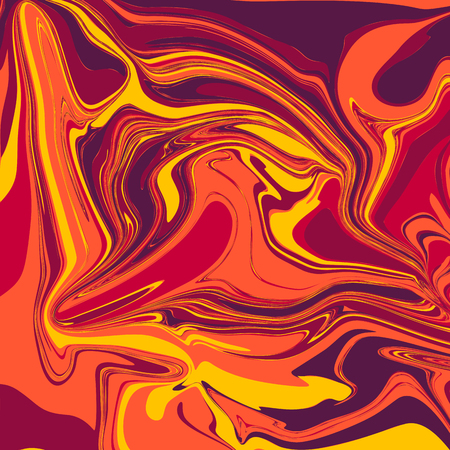 Liquid Marble Backgrounds in Lava Tones Ilustracja