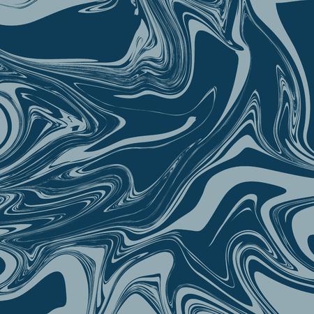 Denim Blue Liquid Marble Background