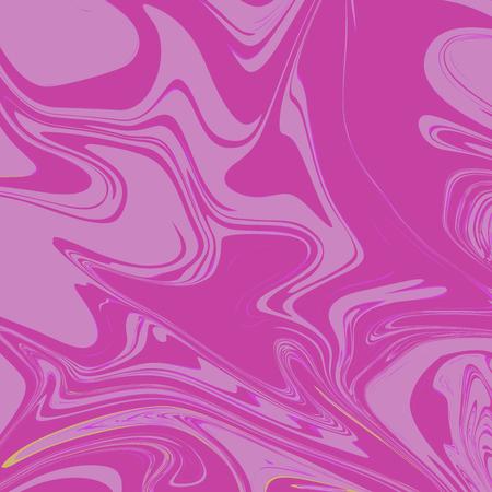 Flamingo Pink Liquid Marble Background