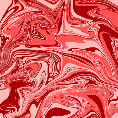 Brick Red Liquid Marble Background