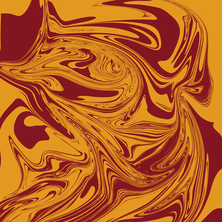 Mustard Brown Liquid Marble Background