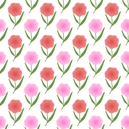 Pink Peach Color Floral Spring Background