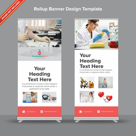 Rollup Banner with blue and purple shades will take care of all your indoor and outdoor advertising needs or displaying promotional information.