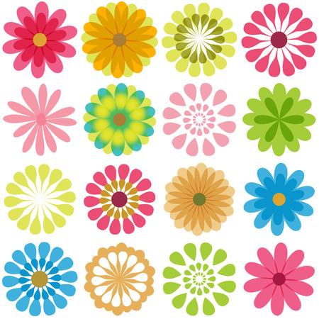 Multiple flowers 4 Ilustração