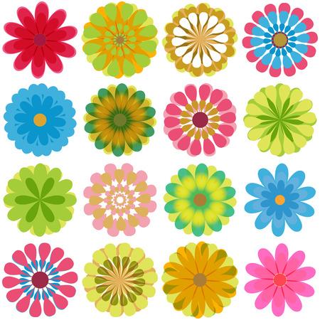 Fleurs multiples 2 Banque d'images - 39640155