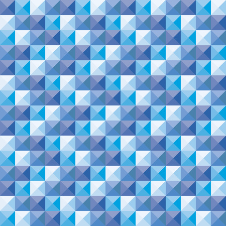 polly: Triangle pool mosaic background Illustration