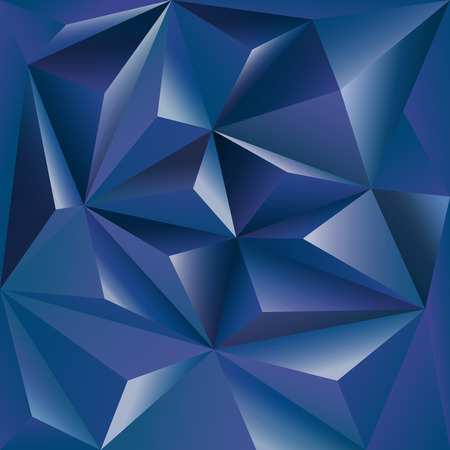 polly: Polygonal background  blue design