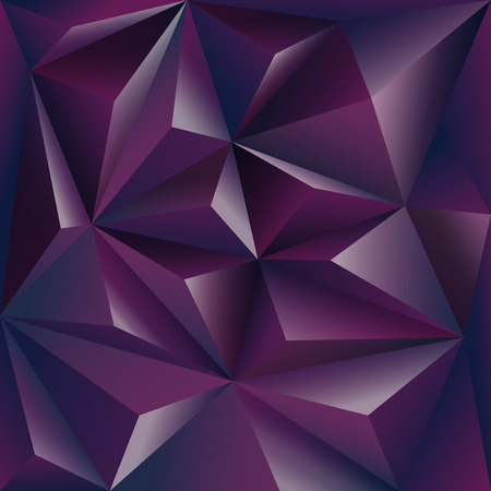 sharpen: Polygonal background  purple design