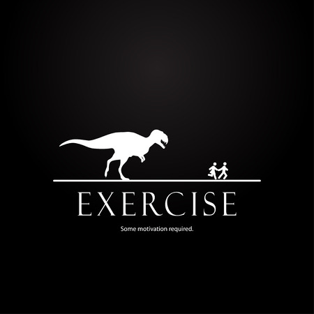 Motivation template for couples  dinosaurs design