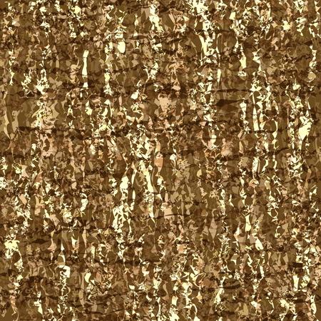 Brown camouflage background design Illustration