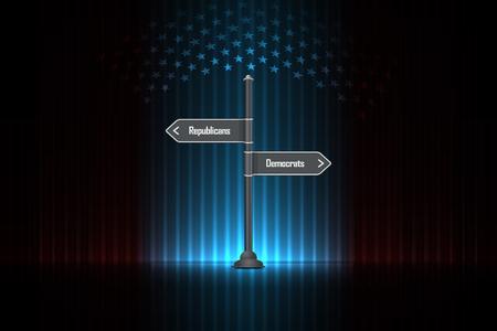 Republicans or Democrats - US Presidential Election