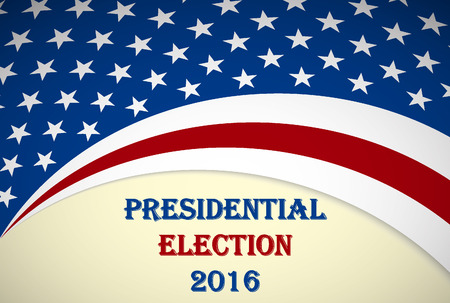 politics: 2016 US Presidential election poster