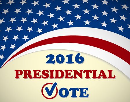 presidential: USA 2016 Presidential Election - template