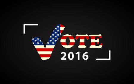 USA 2016 대통령 선거 포스터