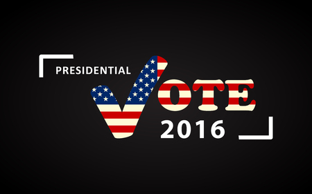 presidential: USA 2016 Presidential election poster