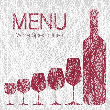 wijnkaart met wijn Specialties