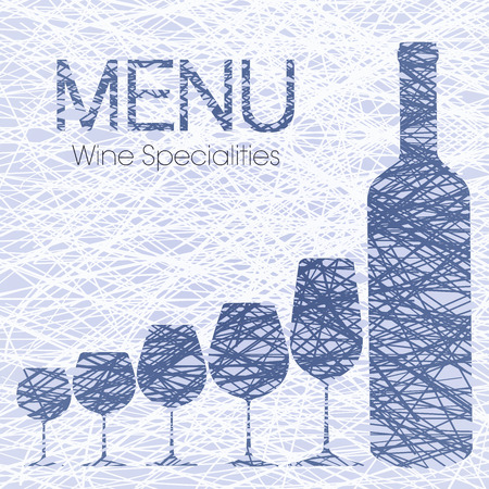 pinot grigio: Wine list with wine Specialties