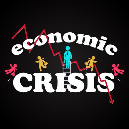 crisis economica: la ilustración del modelo crisis económica
